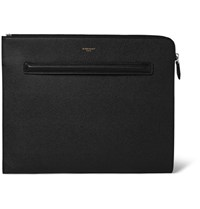 Givenchy Cross Grain Leather Document Holder Black