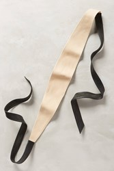 Anthropologie Nidal Obi Belt Black