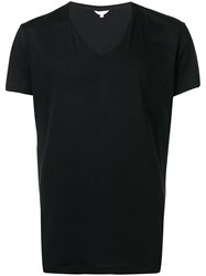 Orlebar Brown Short Sleeve Fitted T Shirt Black