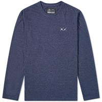 Asics X Reigning Champ Long Sleeve Ascent Tee Blue