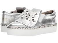 Burberry Clog Slip On Silver Women's Shoes