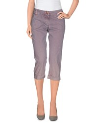 Armani Jeans Trousers 3 4 Length Trousers Women Pink