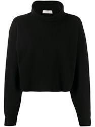 Pringle Of Scotland Cropped Roll Neck Sweater 60