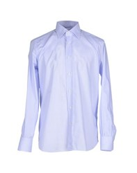 Mazzarelli Shirts Shirts Men Lilac