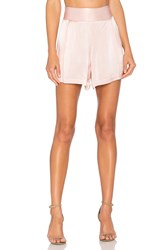 1.State Flat Front Short Pink