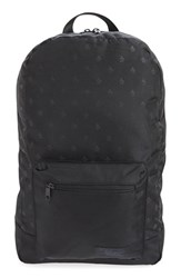 Men's Original Penguin Logo Print Nylon Backpack