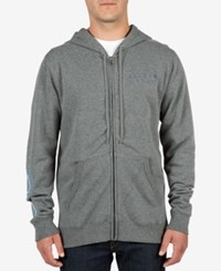 Volcom Men's Darwin Sweatshirt Darkgrey