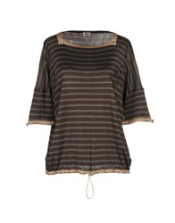 Jean Paul Gaultier T Shirts Military Green