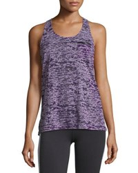 Soybu Lucy Burnout Tank Purple Pattern