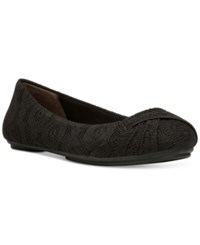 Fergalicious Gabby Flats Women's Shoes Black