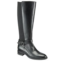 John Lewis Tessa Knee High Riding Boots Black