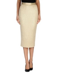 Ndegree 21 3 4 Length Skirts Gold