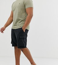 French Connection Plus Millitary Cargo Shorts Navy