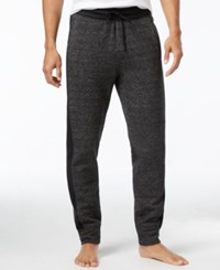 Kenneth Cole Reaction Men's Downtime Marled Lounge Pants Charcoal Heather