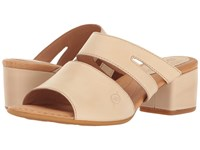 Born Makati Natural Full Grain Women's Dress Sandals Tan