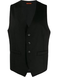Barena Fitted Waistcoat Black