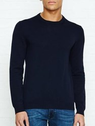 Aquascutum London Rolfe Crew Neck Jumper Navy