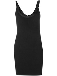 Alyx Ribbed Tank Dress Black