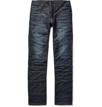 Visvim Social Sculpture 01 Slim Fit Selvedge Denim Jeans Blue