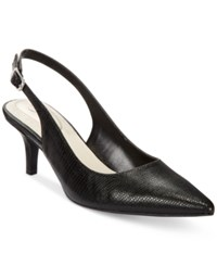 Alfani Women's Babbsy Pointed Toe Slingback Pumps Only At Macy's Women's Shoes