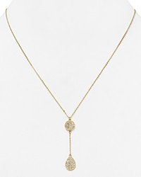 Melinda Maria Clarence Pave Necklace 19