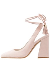 Kenneth Cole New York Gianna Laceup Heels Rose