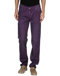 Fred Mello Casual Pants Purple