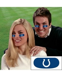 Party Animal Indianapolis Colts Eyeblack Strips Team Color