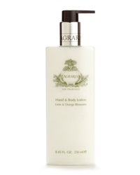 Agraria Lime And Orange Blossoms Hand And Body Lotion Orange