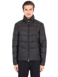 Emporio Armani Quilted Matte Nylon Down Jacket