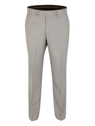 Pierre Cardin Pick And Pick Reegular Fit Trouser Light Grey