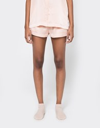 Asceno Modern Pj Short In Pale Blush