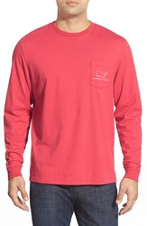 Men's Vineyard Vines Whale Graphic Long Sleeve T Shirt