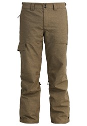 O'neill Construct Waterproof Trousers Marl Brown Beige