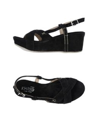 Khrio' Wedges Black
