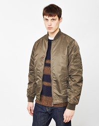 Only And Sons Abas Bomber Jacket Green