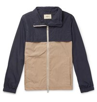 Bellerose Two Tone Cotton Blend Jacket Black