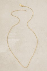 Mirabelle Long Albion Necklace Gold