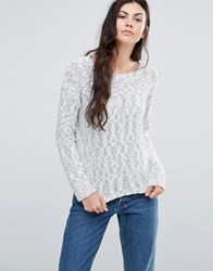 Minimum Vineke Knit Jumper Broken White