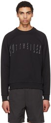 Cottweiler Black Logo Signature 2.0 Sweatshirt