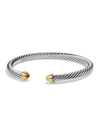 Cable Classics Bracelet With Citrine And Gold David Yurman