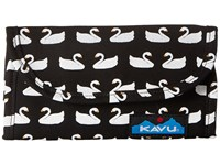 Kavu Big Spender Swan Love Wallet Handbags Beige