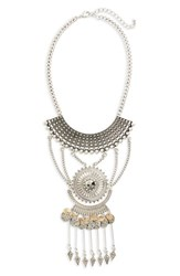 Sole Society Women's Statement Necklace Silver