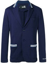Love Moschino Two Button Blazer Blue