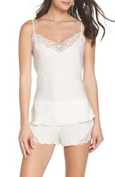 Josie Colette Camisole And Short Pajamas Warm White