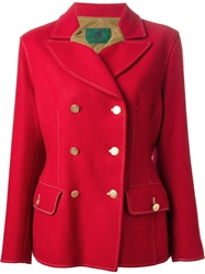 Jean Paul Gaultier Vintage Hunting Style Blazer Red