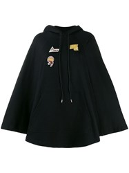 Mcq By Alexander Mcqueen Embroidered Logo Patch Hoodie Black