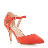 Linea Carmelle Two Part Court Shoe Coral