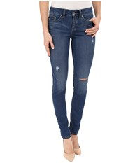 Yummie Tummie Skinny Denim Rugged Wash Women's Jeans Blue