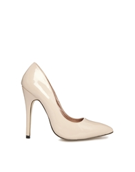 Truffle Collection Truffle Nude Heeled Pointed Shoes Nudepatent